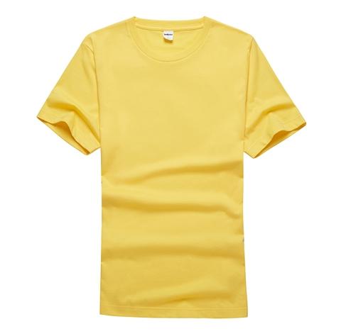 罗湖休闲圆领T恤衫定制