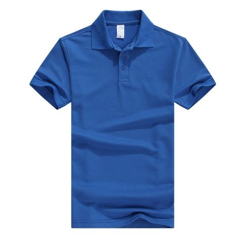 蓝色促销t恤