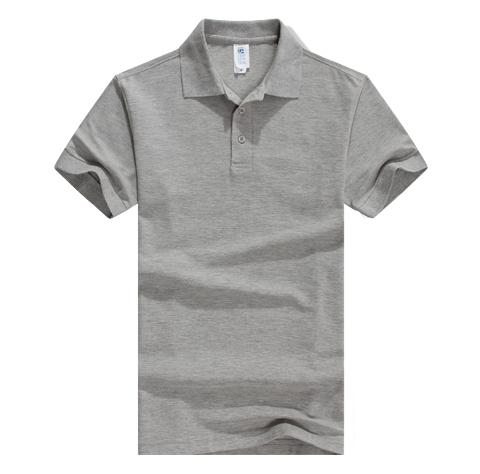立领纯棉广告衫定制