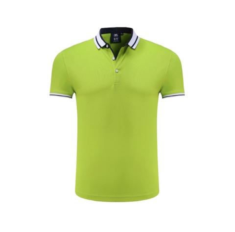 绿色POLO衫定制