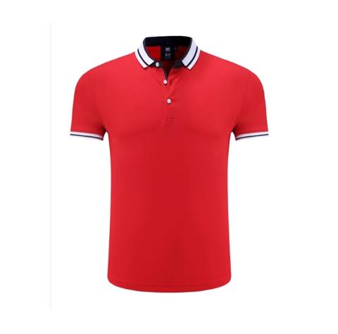 红色时尚POLO衫定制