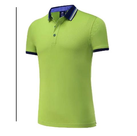 绿色小清新POLO衫定制