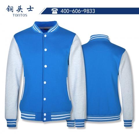韩国超柔水貂绒棒球服
