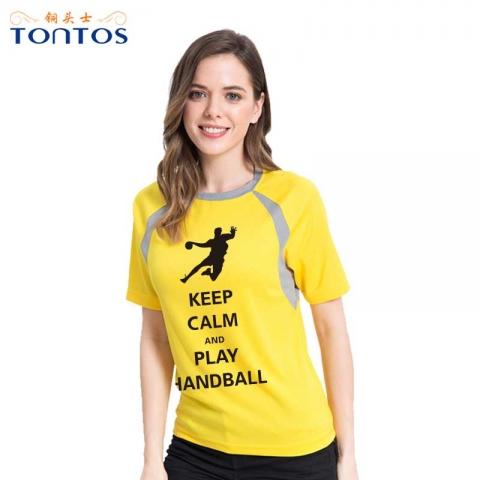 团队运动速干T恤定制