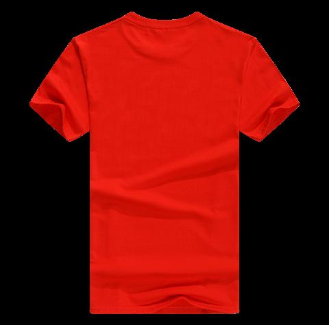 圆领纯棉T恤定制