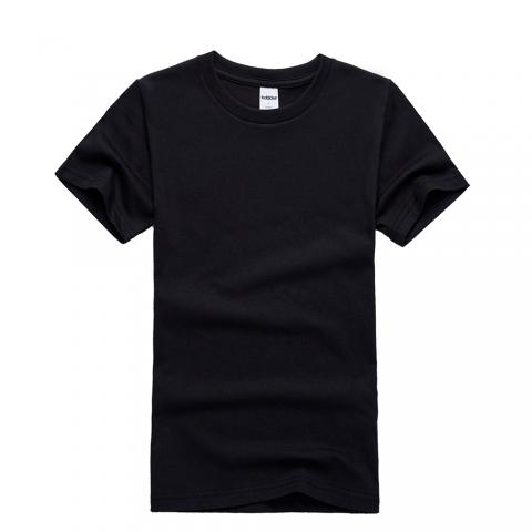 黑色T恤衫定制