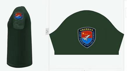 T恤衫定制设计效果图