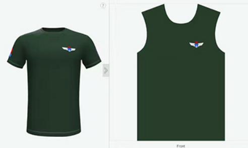 T恤衫定制设计效果