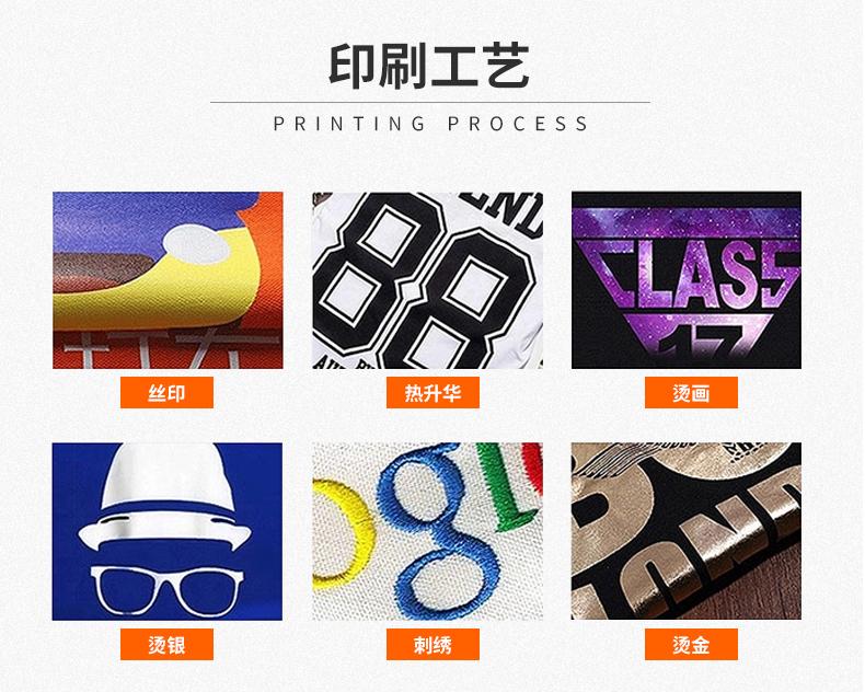 北京t恤衫定制-印刷工艺