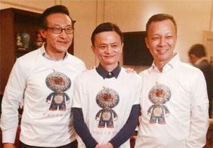 阿里巴巴上市纪念T恤来自深圳企业图腾体育用品公司